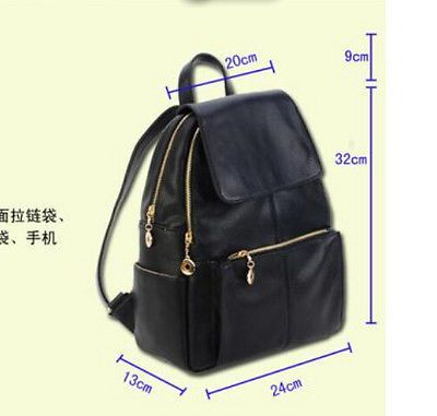 Womens Fashion Outdoor leather message Handbag package shoulder Backpack bags