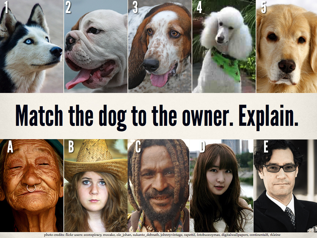 Writing Prompt Match The Dog To The Owner Explain Common Core Connection Writing Anchor