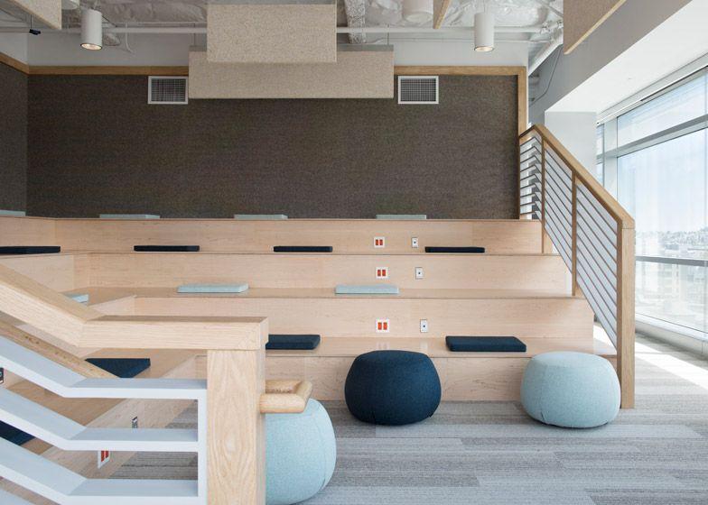 Eventbrite Offices By Rapt Studio Contain Stadium Seating