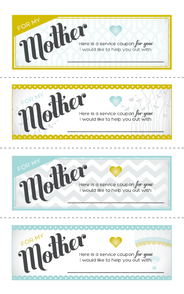 last minute mother 39 s day printables cards coupons printable coupons and free printable. Black Bedroom Furniture Sets. Home Design Ideas