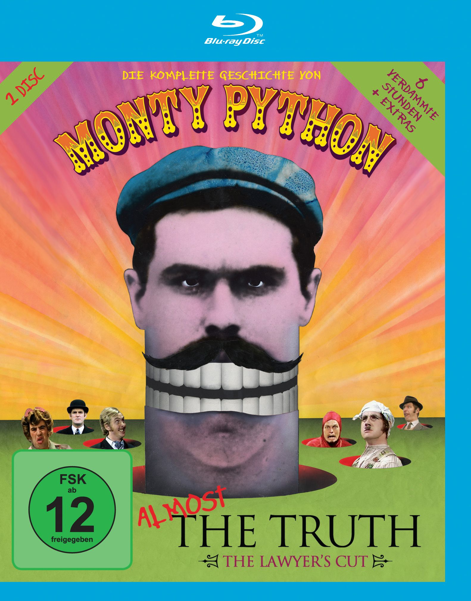 Monty Python - Almost the Truth: Intro Magazine