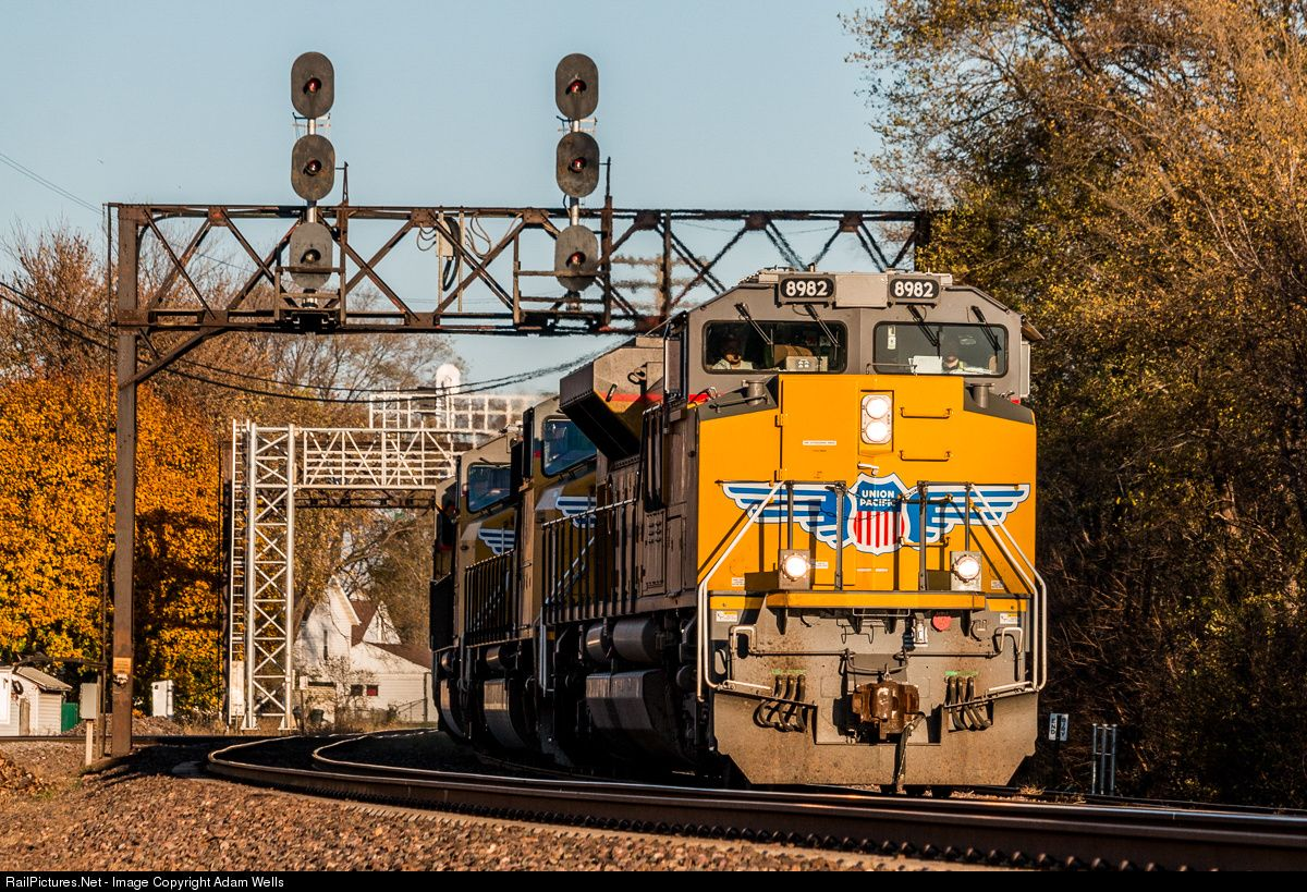 Marvelous Net Photo UP Union Pacific GE ACCW at Rochelle Illinois by William E Pagel Union Pacific RR Pinterest