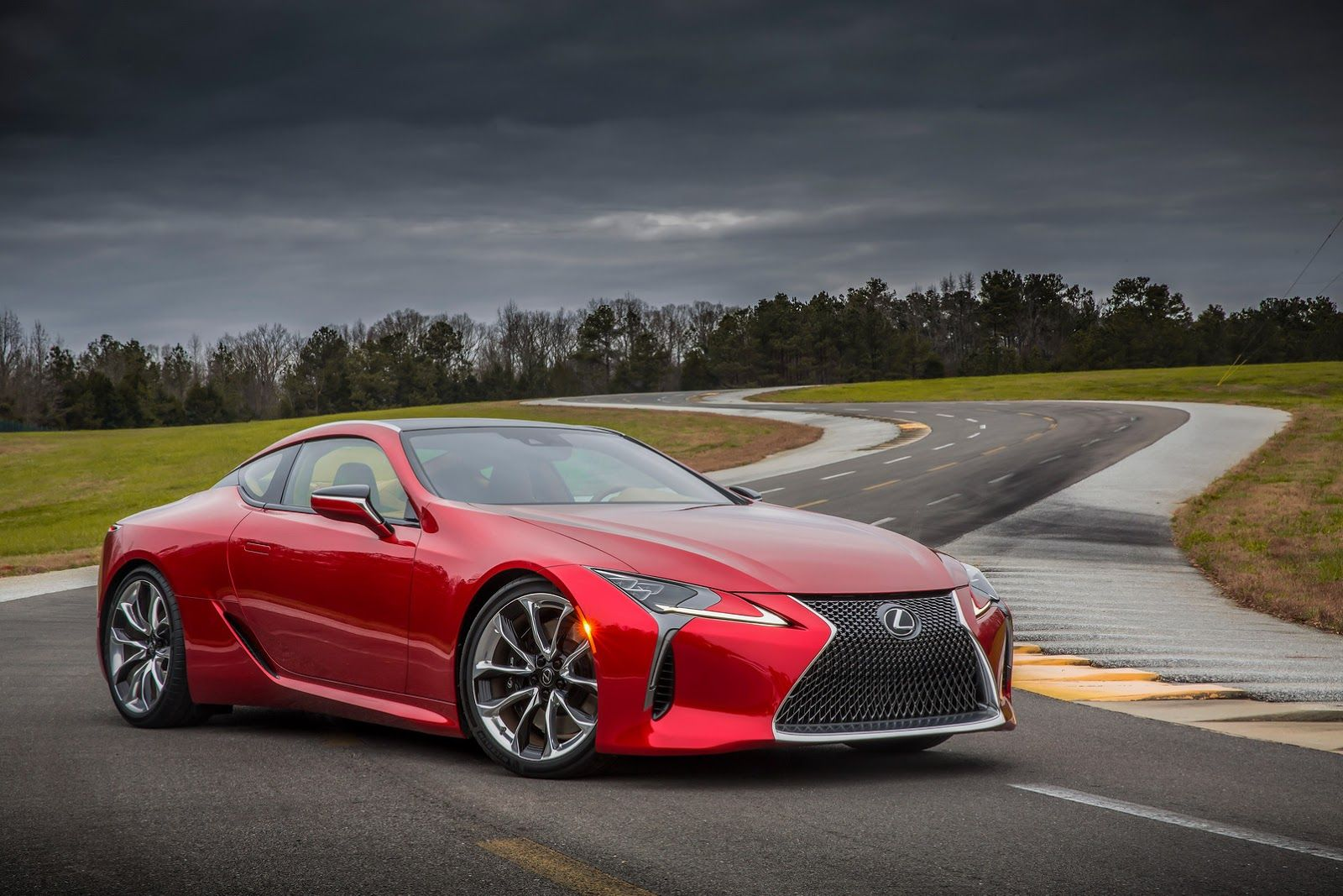 2017 lc 500 with 467hp is the most dynamic lexus since the lfa 51 pics