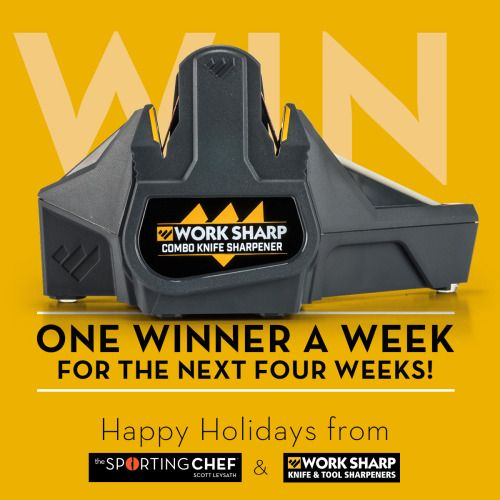 Win a Work Sharp Combo Sharpener from The Sporting Chef