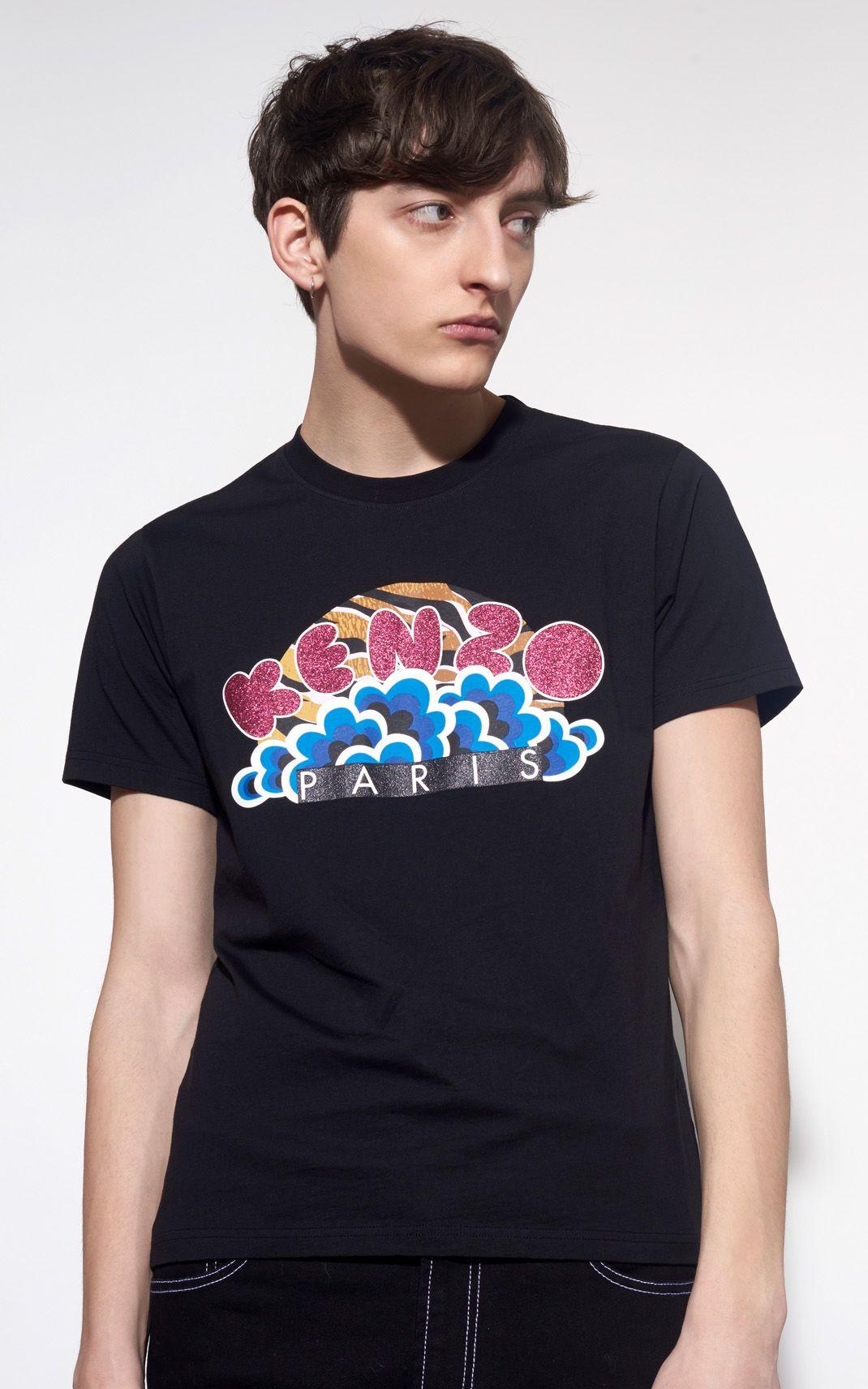 b7da748e KENZO Popcorn Tshirt for Kenzo | Kenzo.com | Graphic Tees | Mens ...
