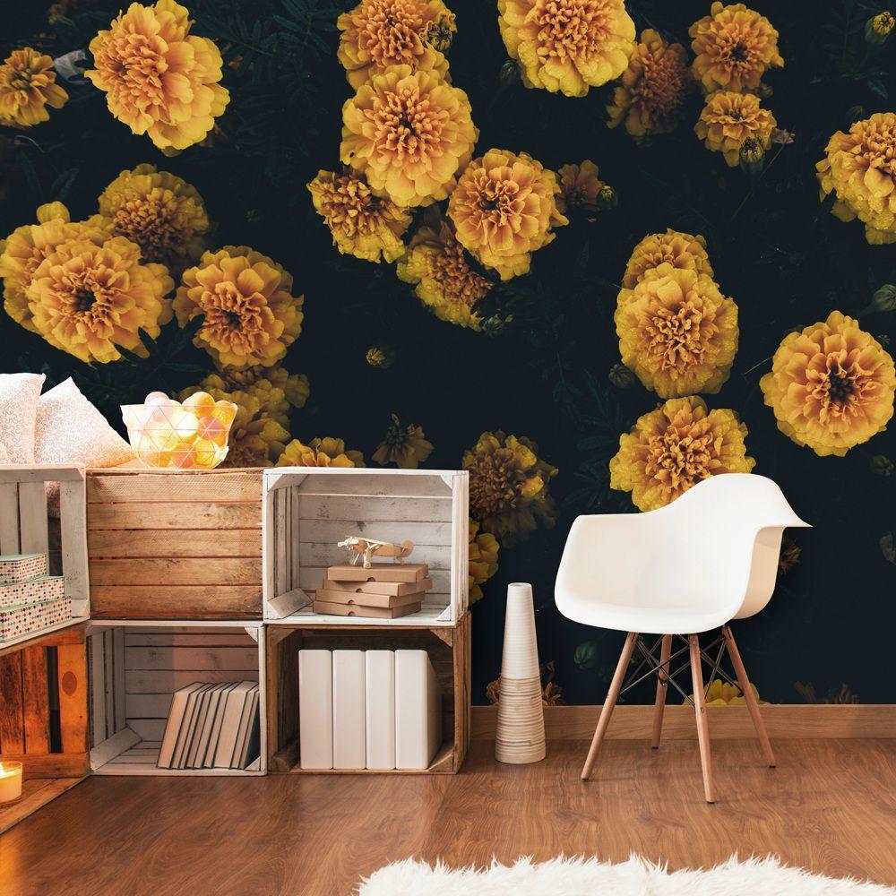 Dark Botanics Floral Wallpaper Wallsauce Uk Floral Wallpaper Mural Wallpaper Wallpaper