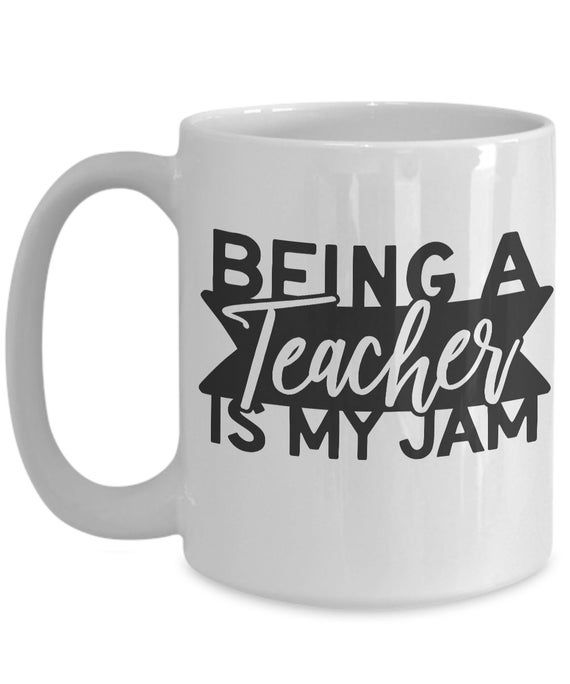 Gift For Teacher Funny Coffee MugThank You Appreciation Present For End Of Year Preschool