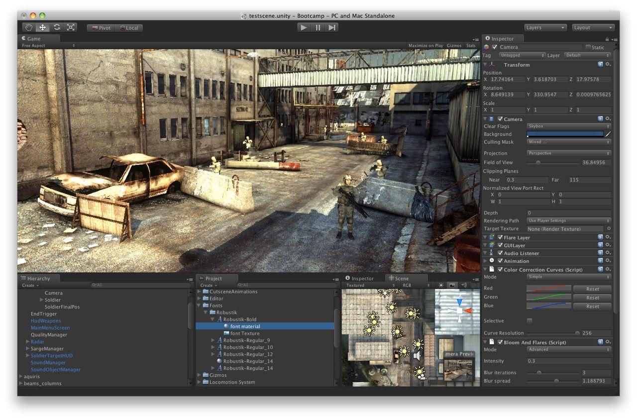 Game Developer Game Engine Unity Game Development