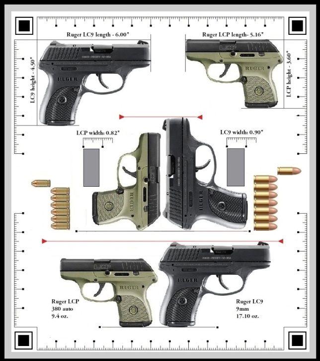 ruger lc9 9mm vs lcp 380 love my lc9 it s not too big for