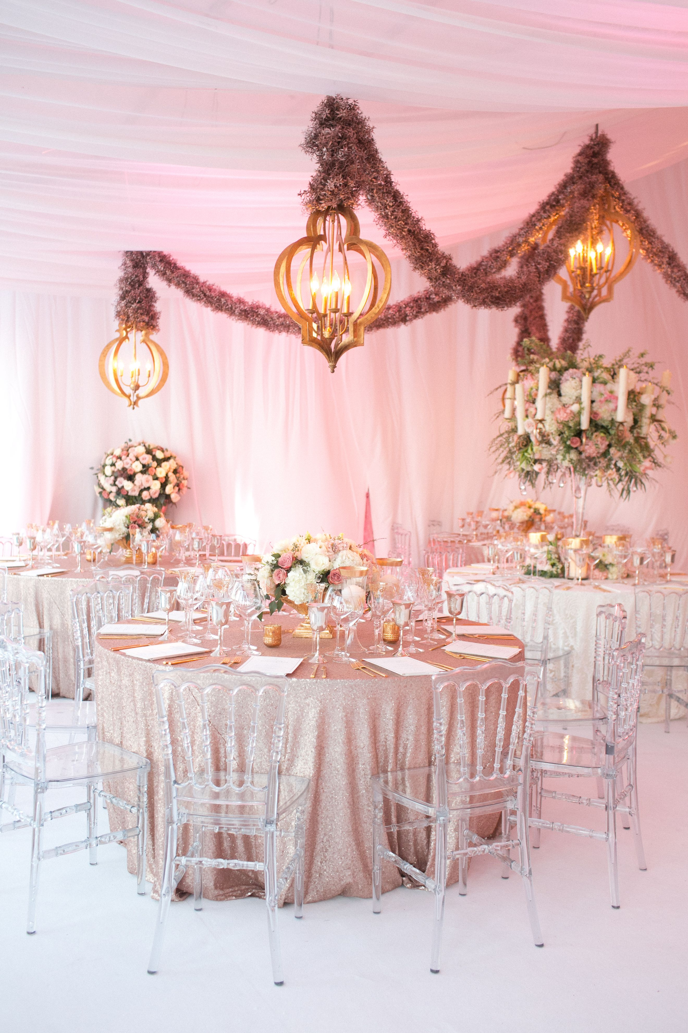 Todd Events At A Tented Reception At The Brides Family Ranch