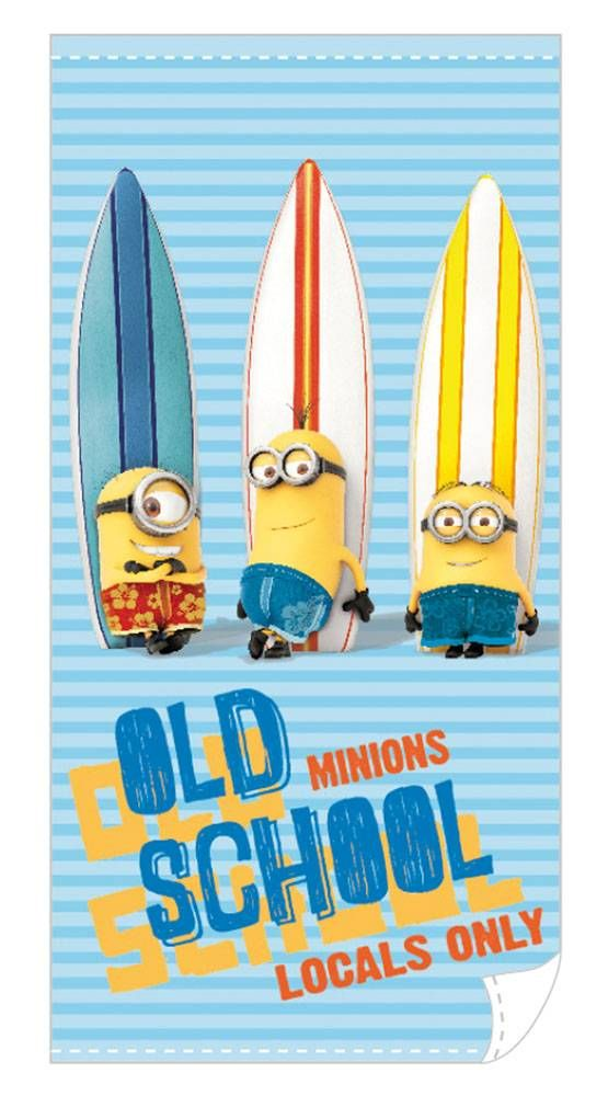Despicable Me Towel Minions Surf 140 x 70 cm