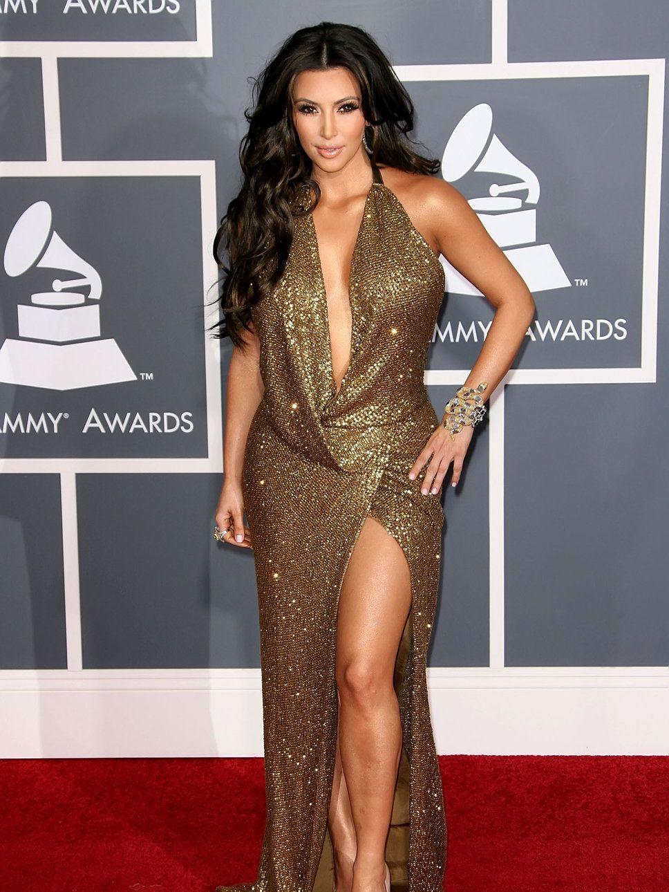 Kim Kardashian Low Cut Kaufman Franco | Low Cut | Pinterest