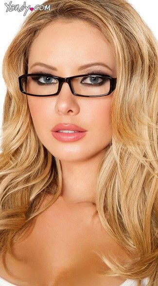 db74eff89c Sexy Secretary Glasses that Anastasia said she wanted to pull the look  together.
