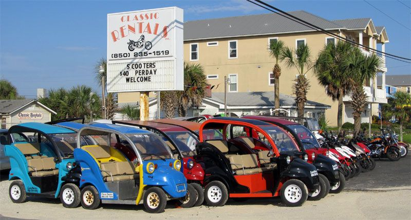 Classic Rentals Inc Rents Sport Bikes And Scooters Harley S And