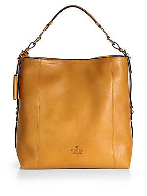Jason I NEED this one  ) lol  Gucci Harness Leather Hobo  3882144ab62f8