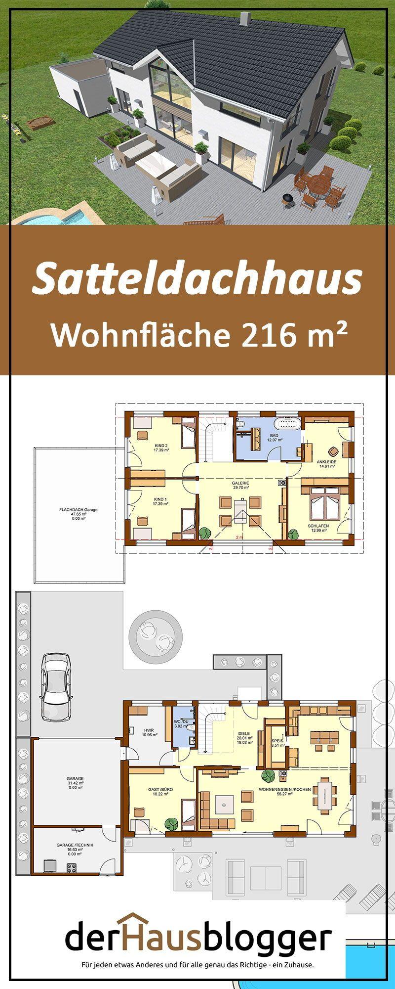 Photo of Satteldachhaus 216m² | derHausblogger