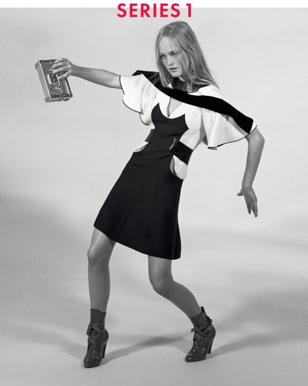 Charlotte Gainsbourg, Liya Kebede, Freja Beha Erichsen, Jean Campbell by Bruce Weber for Louis Vuitton Fall Winter 2014-2015