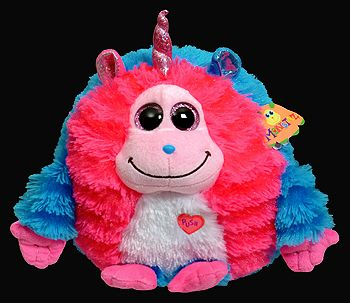 9ac24b80d2e Delilah (37513 medium) - Ty Monstaz unicorn monster. Makes sounds when you  press its heart too.