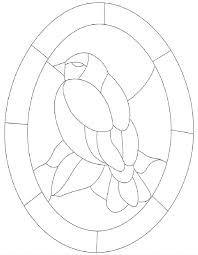Plantillas Para Vitrales Para Imprimir Mosaicos Vitrales Dibujos
