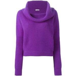 Tomas Maier Cowl Neck Ribbed Sweater | My Closet Dreams ...