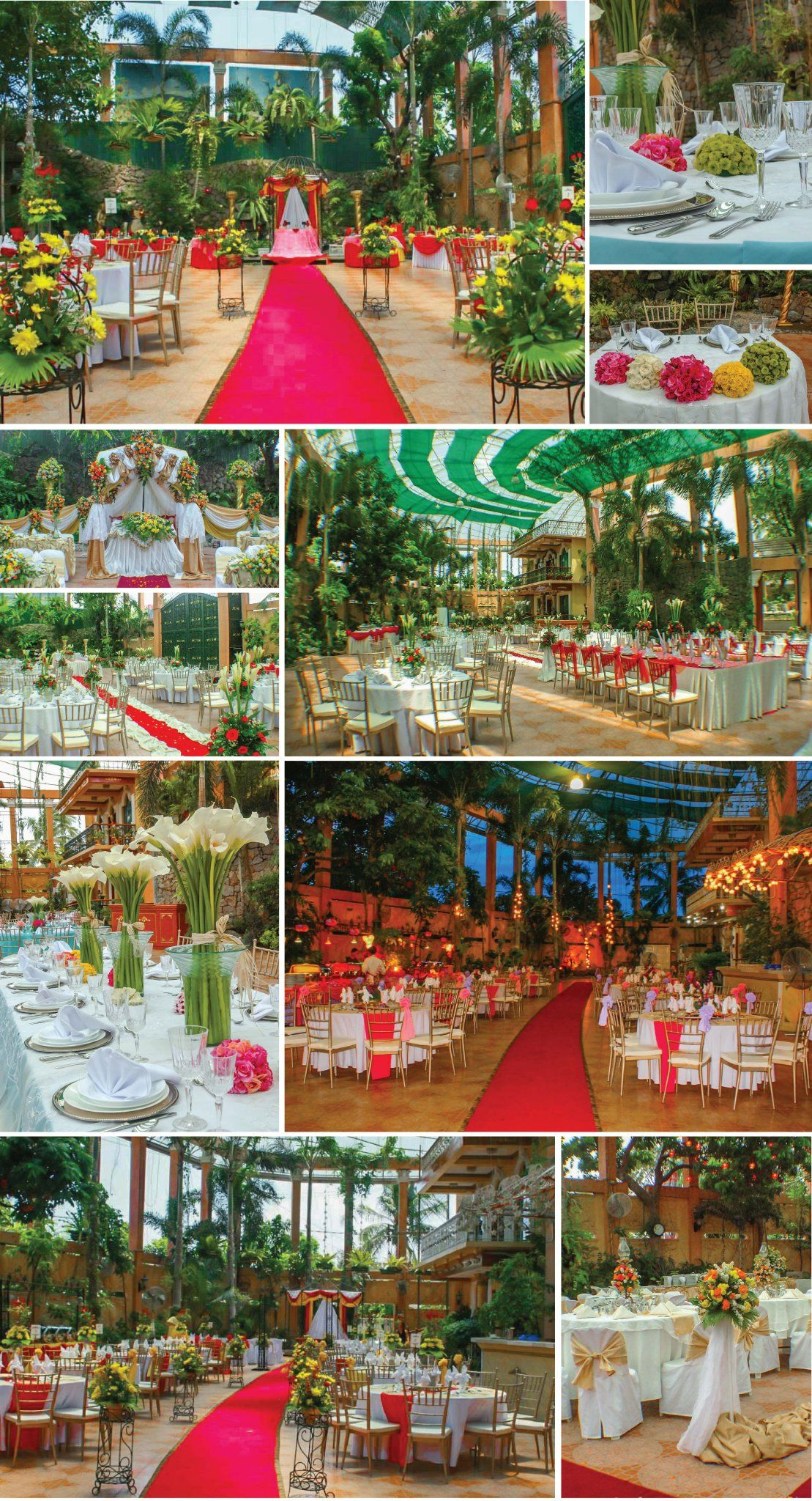 Grand Waterfalls Wedding Reception Venue Catering Services Bulacan Hizon S Catering Waterfall Wedding Wedding Reception Venues Backyard Wedding Catering