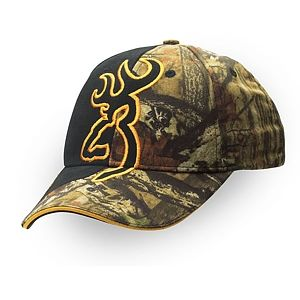 30febc0629734 Browning Big Buckmark Camo Hat - Mossy Oak Infinity