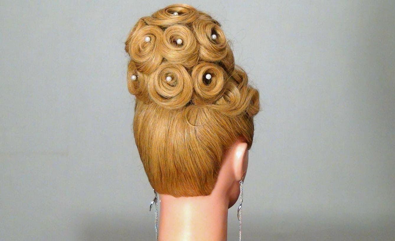 Вечерняя свадебная прическа wedding prom hairstyles for long hair