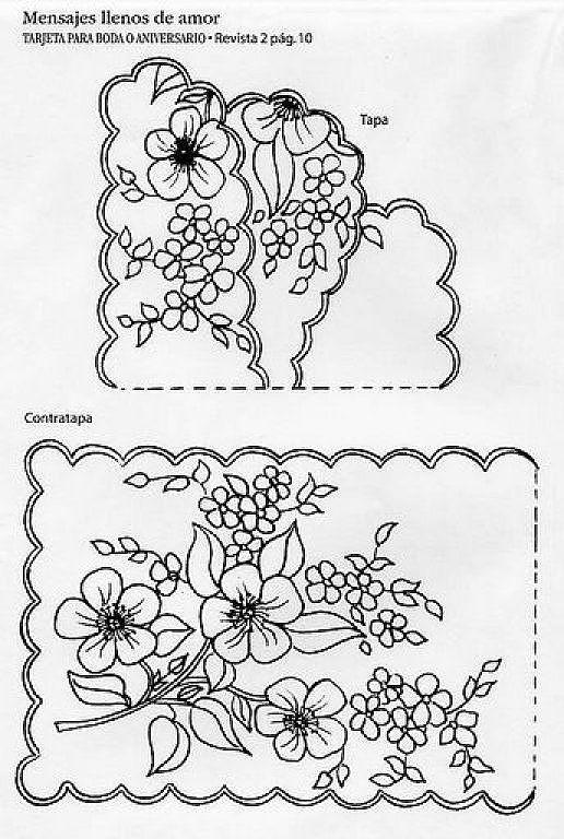 Tarjeteria española moldes gratis - Imagui | dibujos | Pinterest ...