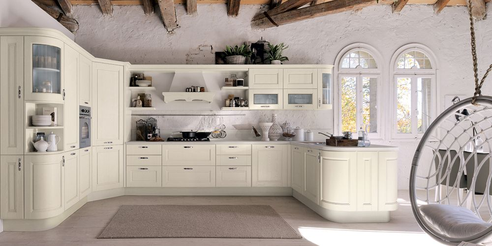 Veronica - Cucine Classiche - Cucine Lube | Spaces where eating is ...