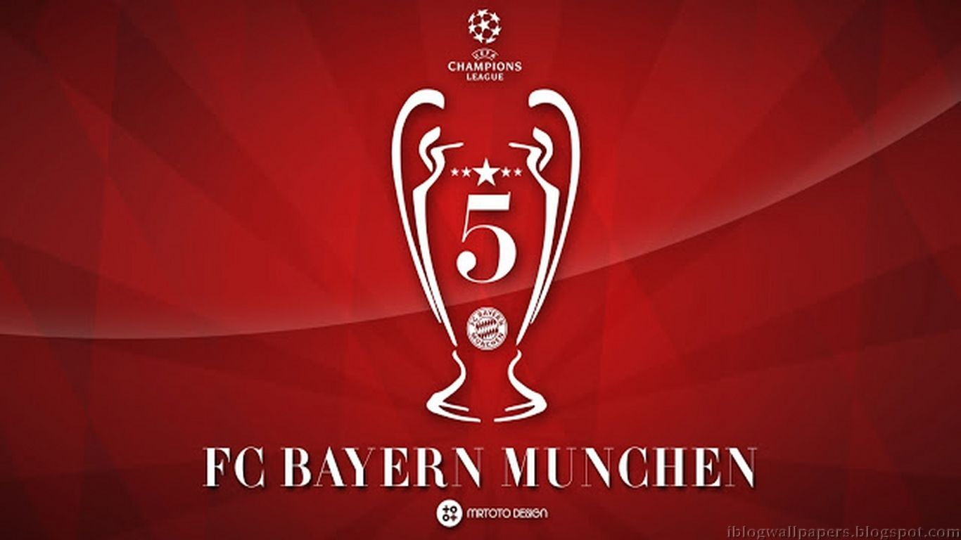 Bayern Munchen Football Club Wallpaper: FC Bayern Munich, 5 Times For Being A Winner Of UEFA