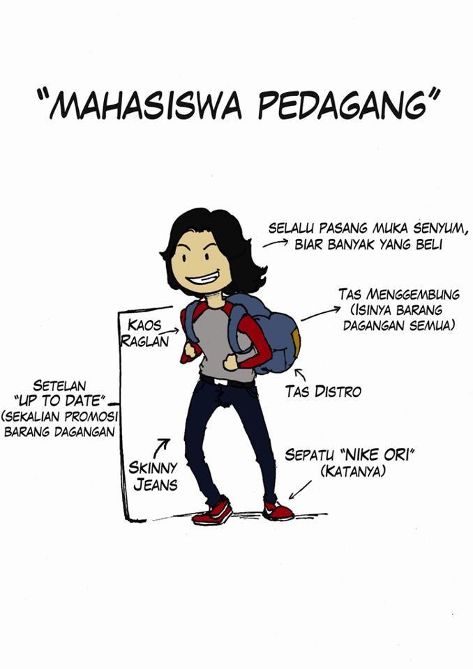 Mahasiswa Pedagang