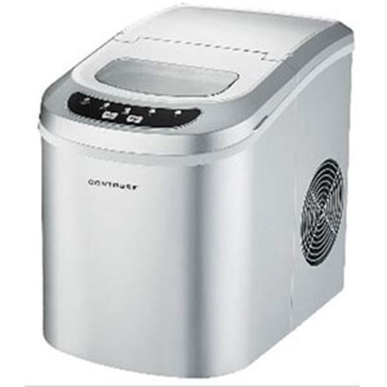 Contoure Silver Portable 120v 15a 2lb Capacity Compact Ice Machine