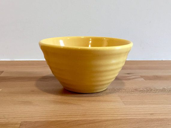 Vintage Bauer Pottety Ringware Mini Bowl