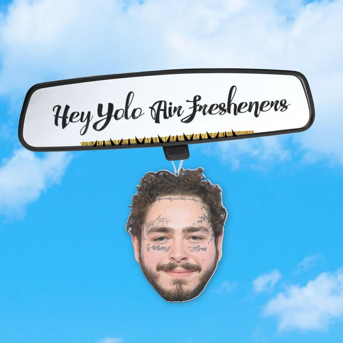 Post Malone Inspired Air Freshener Fresh Scents