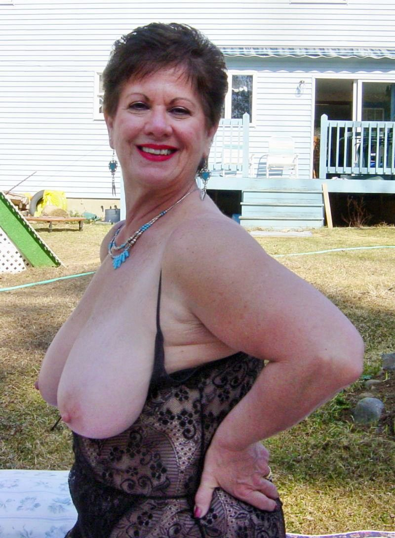 Mature outdoor ladies