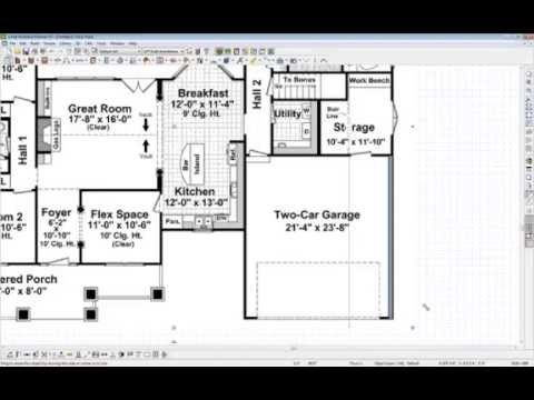 Chief Architect Quick Tip Tracing Over A Floor Plan Youtube