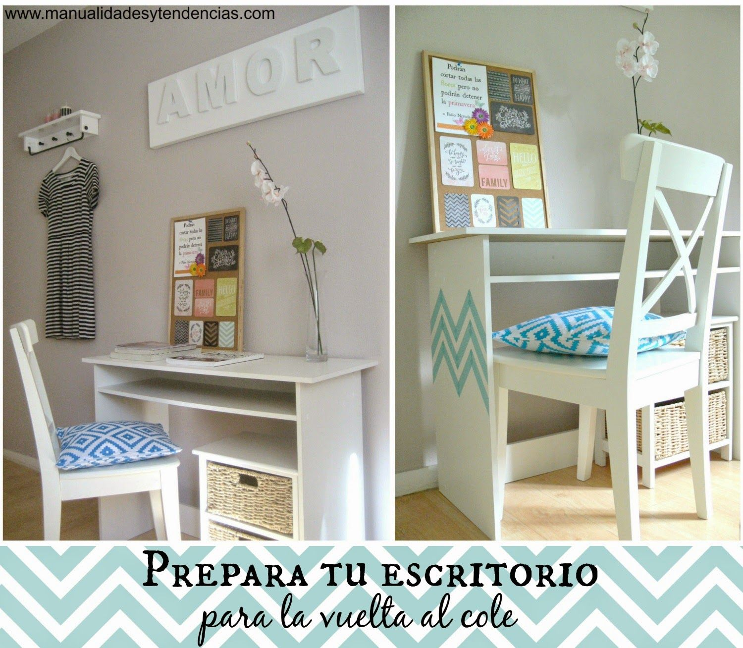 Decorar Escritorio Cómo Decorar Un Escritorio Con Washi Tape Www