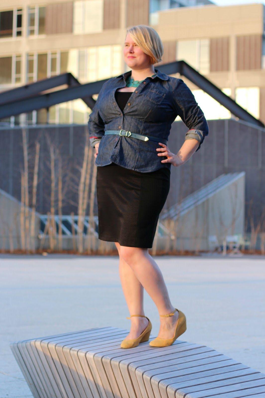 Curvy Colette Plus Size Blog Tour: the Colette Mabel Skirt ...
