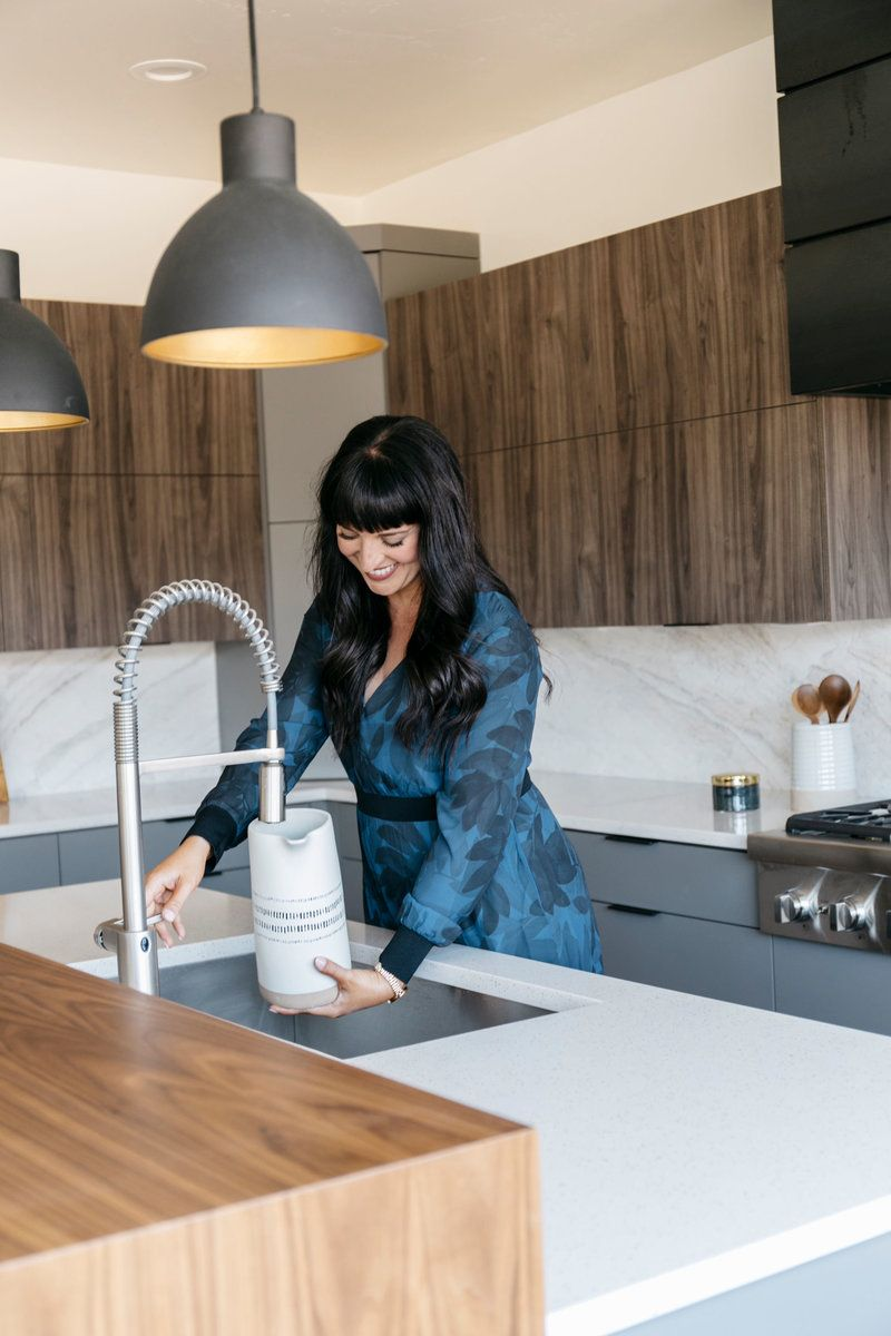 Blue Atlas X Stagg Design Parade Home Kitchen Reveal In 2020