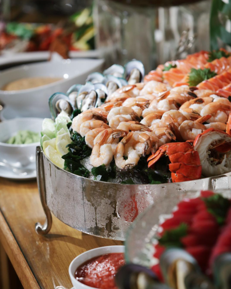 delight your palate at the best of kahala seafood buffet every rh pinterest com best breakfast buffet honolulu best seafood buffet honolulu