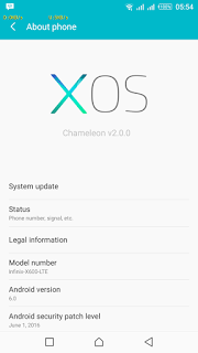 The new XOS based on Android 6 0 Marshmallow for Infinix Note 2 X600