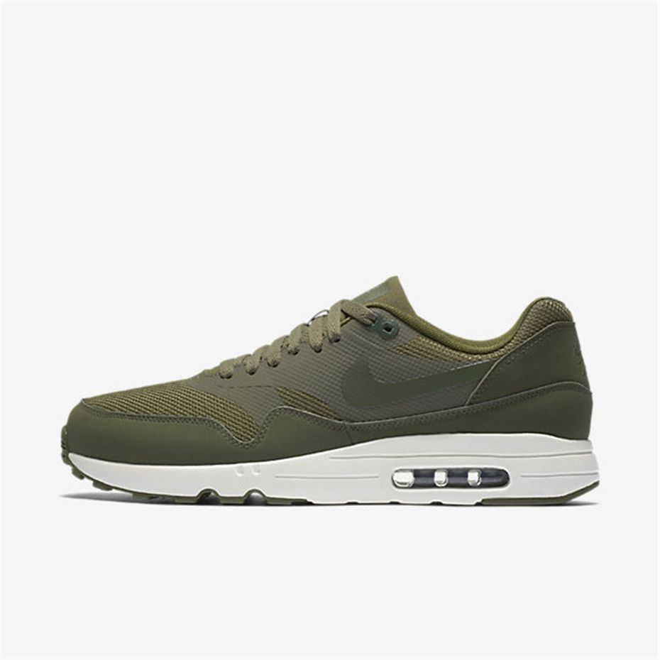 best service 3bd18 182c2 Nike Air Max 1 Ultra 2 0 Essential (Medium Olive   Sail   Legion Green)