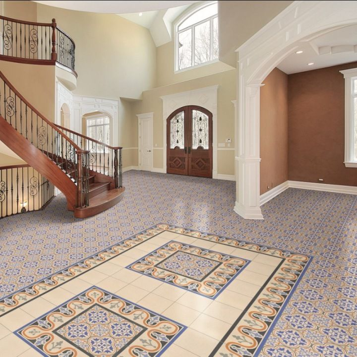Decorative Floor Tiles Create Your Own Beautiful Victorian Tile Patterns In Shades Of