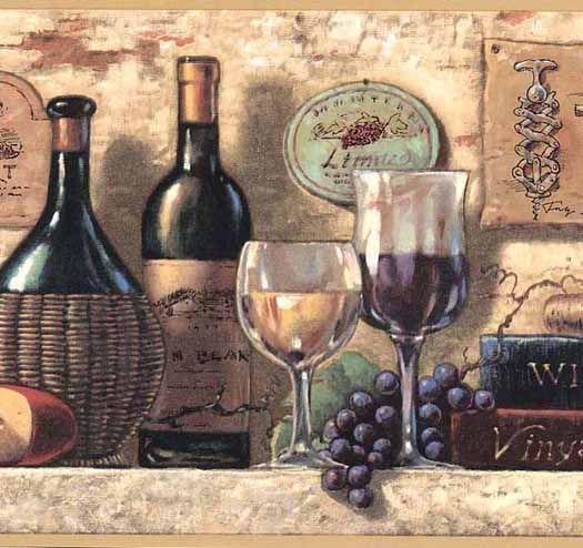 Vineyard Wallpaper Borders Wine Bottle Wall Wine Wallpaper Bottle Wall