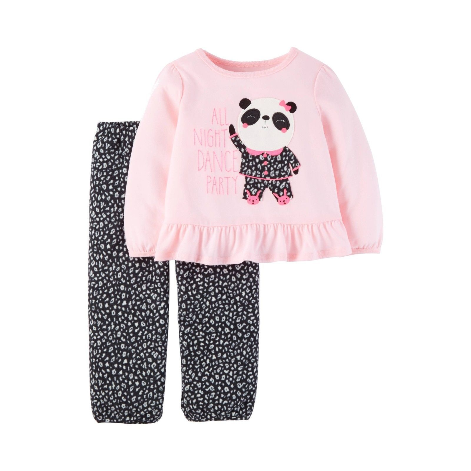 5cadfc7a0 Just One You Carter's Toddler Girls Panda Animal Print Pajama Set Pink Size  4T
