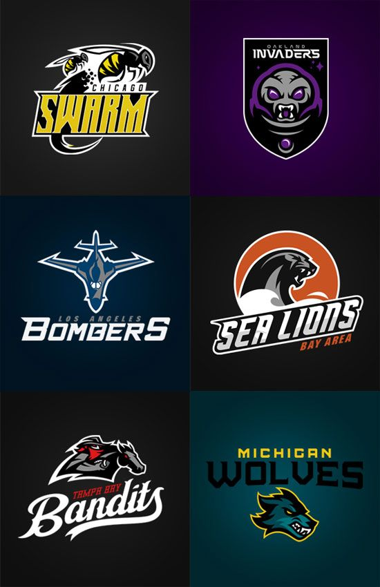 Logo Design Inspiration: 100+ Sport Club Logos | Sports clubs and ...