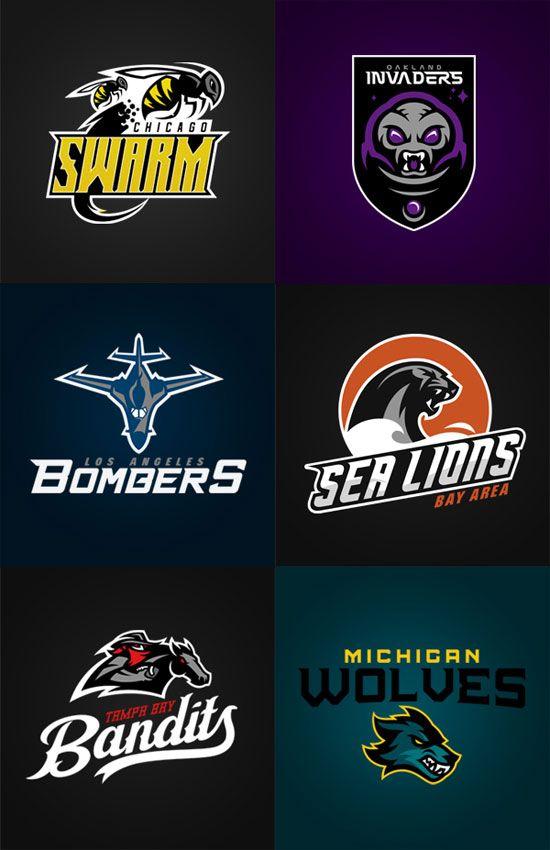 Logo Design Inspiration: 100+ Sport Club Logos | Logo design ...