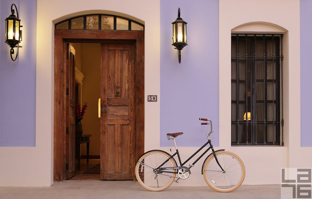A home with a bicycle.jpg | LA76, lifestyle and editorial photography - @Brooklyn Bicycle Co.  in Todos Santos, Baja, Mexico #bicycle #todossantos #baja #mexico #brooklynbicycleco