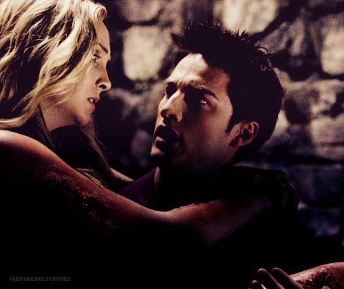 Caroline & Tyler. She got so much better once she turned.