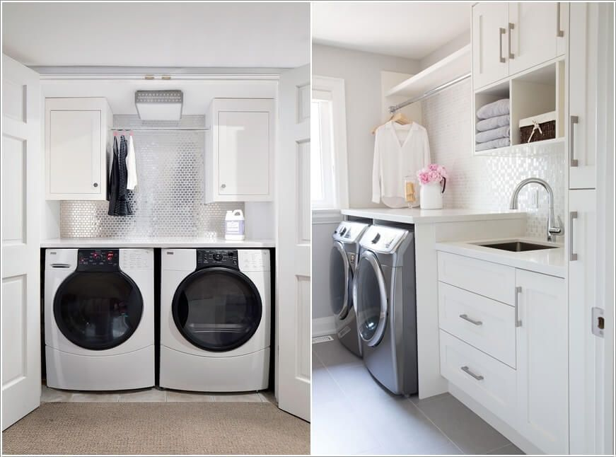 10 Clever Clothes Hanging Solutions For Your Laundry Room Small